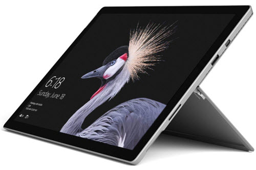 MS Surface Pro Tab - One of the best tablets with usb ports