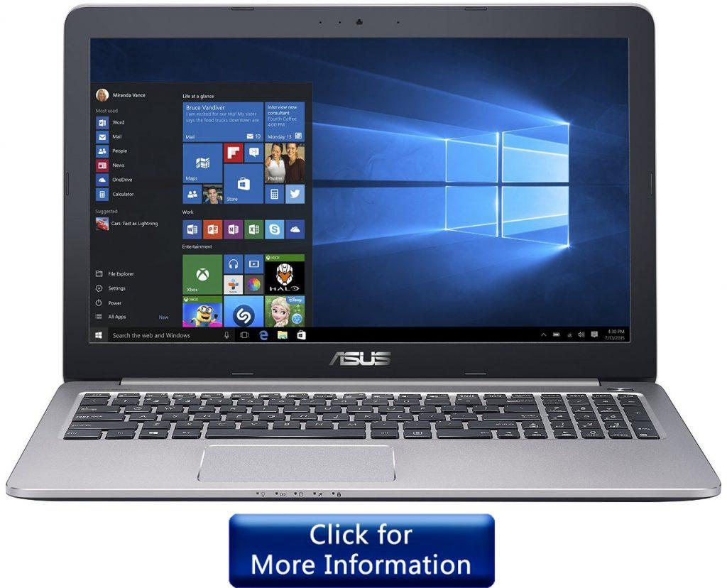 asus-k501ux DJing laptop under 800