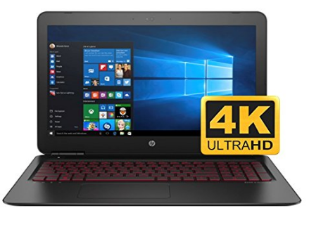 HP OMEN 17 17.3'' UHD 4K Laptop