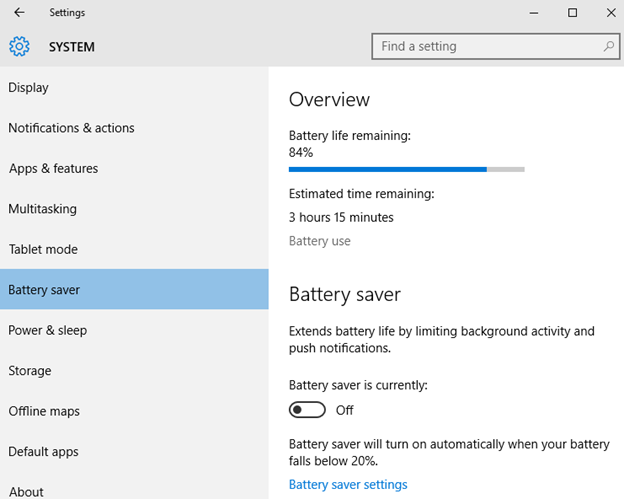 how to change rest settings on laptop bacground