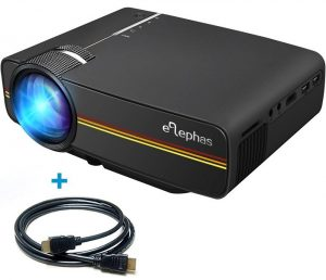 ELEPHAS LED Mini Video Projector