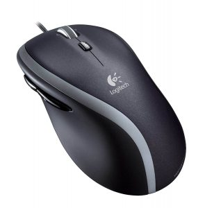 Logitech M500 USB Corded Mouse With Hyper Fast Scroll