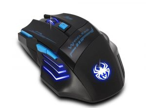 Zelotes F14 Professional Blue LED 2400 DPI Mouse