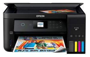 Epson Expression ET 2750 EcoTank Wireless Color All In One Supertank Printer