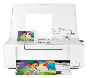 Epson PictureMate PM 400 Wireless Compact Color Photo Printer