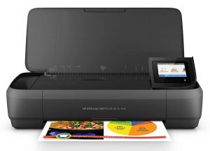 HP OfficeJet 250 All In One Portable Printer