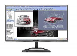 Sceptre E248W 1920R 24 Inch Ultra Thin 1080p 75Hz LED Monitor
