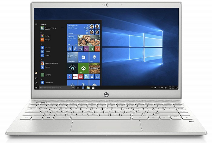 HP Pavilion 13 Inch Light And Thin Laptop For Video Editting Under 700