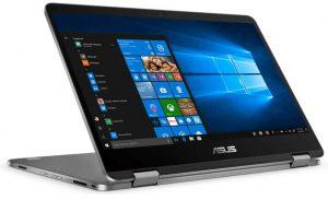 Asus Vivobook Flip 14 Inch FHD Touchscreen 2 In 1 Laptop Computer