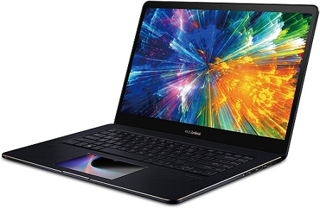 Asus Zenbook Pro With Innovative Screenpad