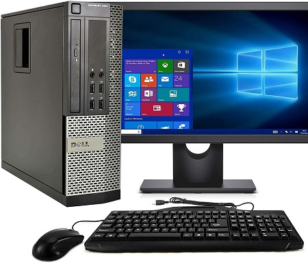 Desktop Computer Package Compatible With Dell OptiPlex 990