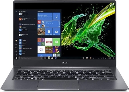 Acer Swift 3 Laptop With Thunderbolt 3